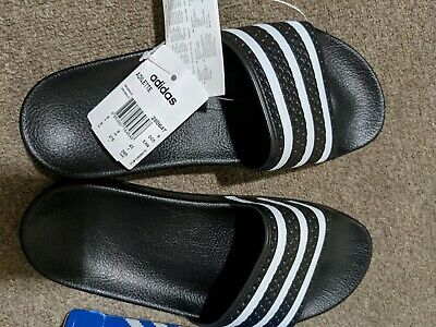 AU50 • Buy Adidas Originals Adilette Slides (Black) & (White)