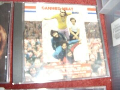£6.99 • Buy Canned Heat - Live! (CD 1993) [Charly Records/Classic Rock]