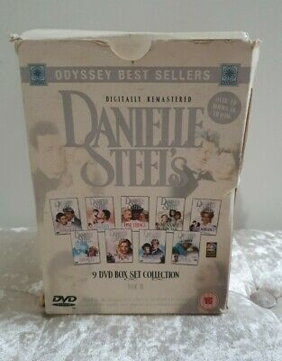 Danielle Steel Volume 2 -  9 DVD Box Set Collection - Complete  • 29.99£