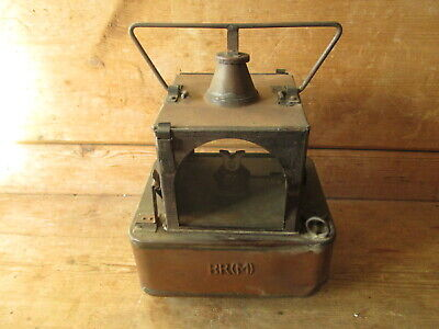 BR [M] Railway Lamp. Railwayana. British Rail. Railway Lamp.3 Way Signal Lamp • 95£