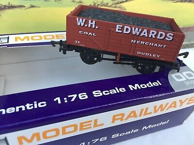 Dapol 00 Gauge TMC-D008C Limited Edition Plank Wagon W.H Edwards Coal Dudley Box • 10£