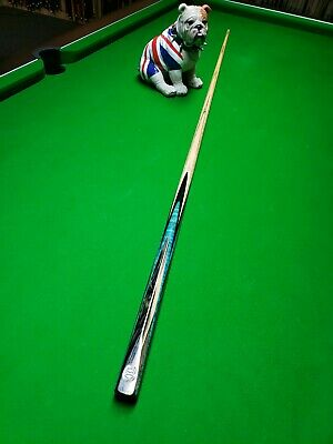 Exotic BLUE MOON EBONY Pool Snooker Cue High Quality 1 Piece Special Edition  • 399£