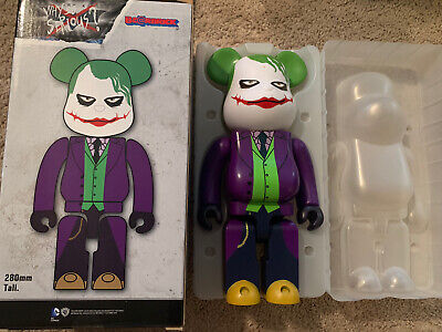 $250 • Buy Medicom Be@rbrick DC Batman The Dark Knight 400% Joker Why So Serious Bearbrick