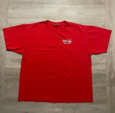 $ CDN31.70 • Buy Chase Authentics NASCAR Budweiser 29 Kevin Harvick Double Sided Red Shirt Sz XXL