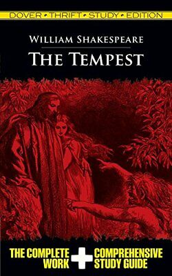The Tempest, Paperback, By William Shakespeare • 6.30£