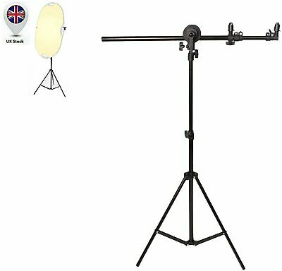 79  Collapsible Reflector / Background Holder Stand For Photo Studio Lighting UK • 14.99£