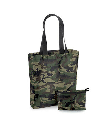 Water Resistant Folding Polyester Tote Shopping Bag For Life BG152 - 4 Colours  • 4.95£