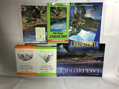 6x Lake District Books The Southern / Eastern Fells A Walk Around The Lakes • 9.99£
