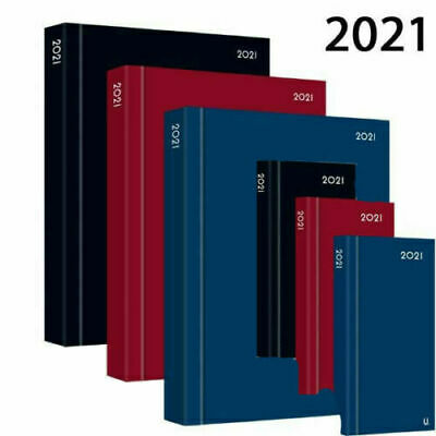 £11.99 • Buy 2021 A4 / A5 / A6 Diary Day A Page Or Week To View Desk Diary Hard Backed Dairy