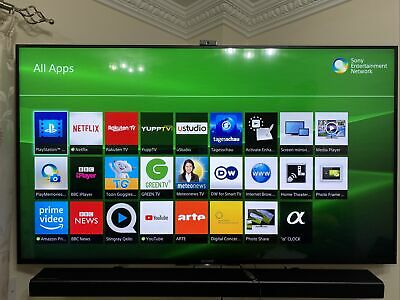Sony Bravia KD55X8505b 55  4K Ultra HD 3D LED Smart TV With Freesat HD • 399£
