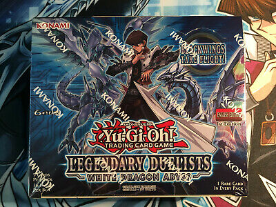YuGiOh! Legendary Duelists White Dragon Abyss Booster Box - 36 Packs - Sealed! • 179.95£