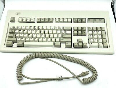 IBM Model M Keyboard 1391401 PS/2 Cable Complete, TESTED Works GREAT! • 144.71£