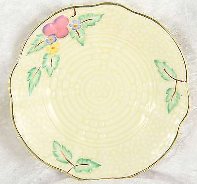Saucer By Crown Devon 5244 With Floral Decoration 5  Across Collectable • 0.99£