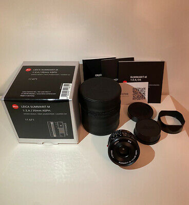 Leica Summarit-M 35mm F2.4 ASPH - Boxed & Mint Condition • 1,350£