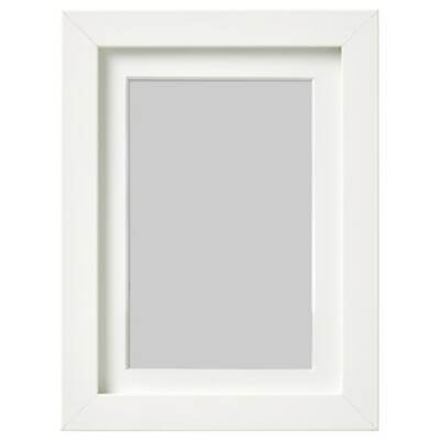 Ikea RIBBA Photo Picture Frame Image Hanging Standing Poster Frame White 18x24 • 9.99£
