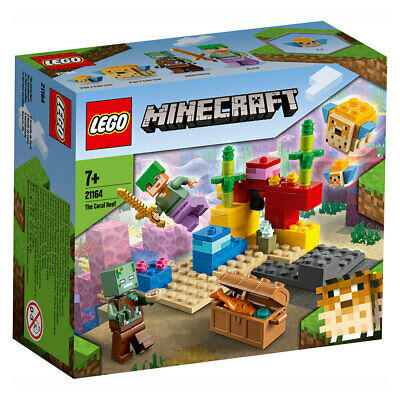 AU22.95 • Buy LEGO Minecraft The Coral Reef 21164 NEW