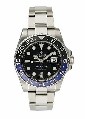 $ CDN21600.19 • Buy Rolex GMT Master II 116710 Batman Mens Watch