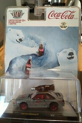 $ CDN140 • Buy M2 Machines 1988 Ford Mustang GT RAW Super Chase Coca-Cola 1 Of 250 - PB02 20-17