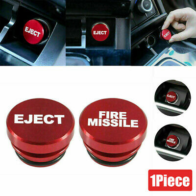 $3.99 • Buy Universal Fire Missile Eject Button Car Cigarette Lighter Cover Accessories 12V