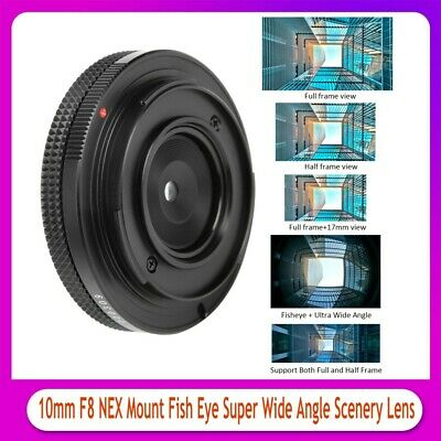 $ CDN82.54 • Buy 10mm F8 NEX Mount Fish‑eye Super Wide Angle Lens For Sony A3000/A6500 Camera