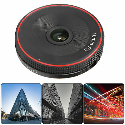 $ CDN83.25 • Buy 10mm F8 NEX Mount Fish‑eye Super Wide Angle Lens For Sony A3000/A6500 Camera