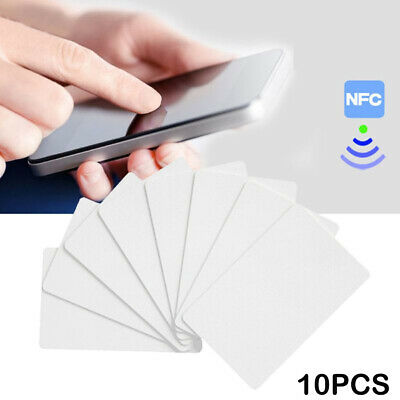 AU3.82 • Buy NTAG215 NFC White PVC Card Tag For TagMo Forum Switch Type2 Tags Chip