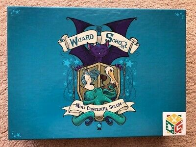 Wizard School By DFTBA Games. A Cooperative Card Game For 2-5 Players Age 12+ • 5.20£