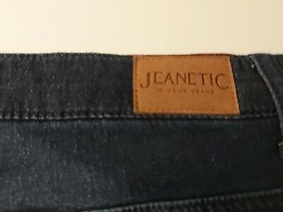 Avon Jeanetic Blue  Highrise Straight Leg Jeans Size 18 Bnwt • 8.99£