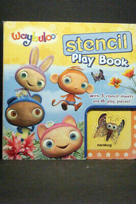 £3.99 • Buy Waybuloo Stencil Play Book By Egmont