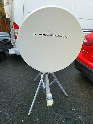 Travel Vision R6 80cm Fully Automatic Satellite Dish For Caravan/motorhome • 299£