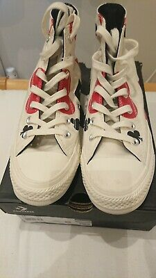 Converse Size 4.5  QUEEN OF HEARTS  Edition WORN TWICE • 45£