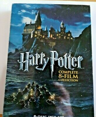 $ CDN25.08 • Buy Harry Potter DVD 8 Disc Set Complete 8 Film Collection Widescreen Fantasy