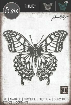 £16.99 • Buy NEW Sizzix Perspective Butterfly By Tim Holtz - Thinlits Die    665201