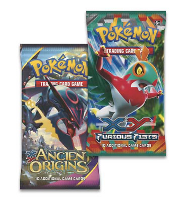 $59 • Buy Pokemon XY Booster Box Pack Collection Knock Out TCG LOT X3 Xy Holo Charizard ?