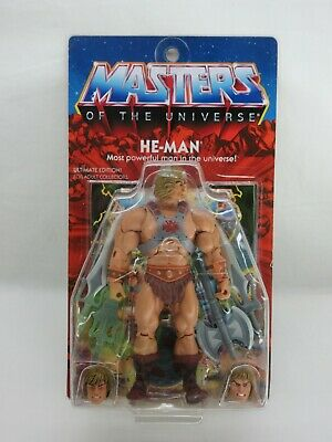 $395 • Buy MOTUC,ULTIMATE HE-MAN,SUPER 7,MASTERS OF UNIVERSE,CLASSICS,Sealed,MOC