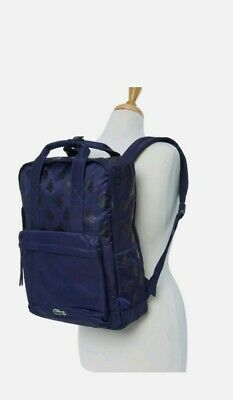 Lacoste , Mickey Mouse , Disney, Navy Backpack Bag, Authentic NWT  • 69.99£