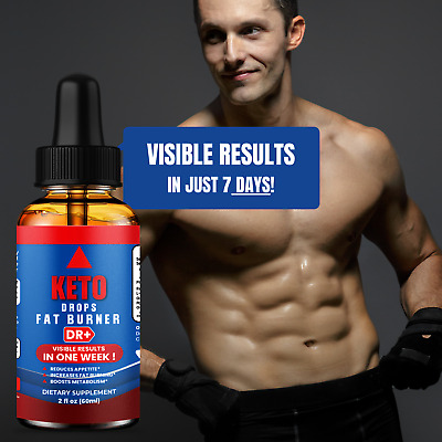 $14.90 • Buy Keto Diet Drops Weight Loss Suppress Appetite Boost Metabolism Ultra Fast 2oz