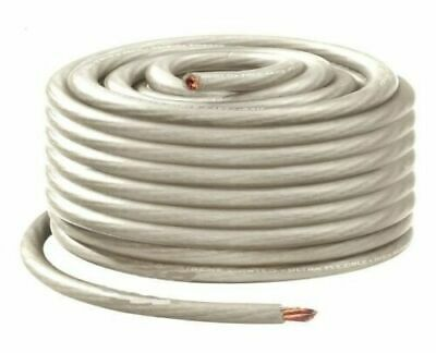 $28.95 • Buy 25Ft True 1/0 0 AWG Gauge Power PLATINUM Wire Strand Cable 25' Ultra Flexible