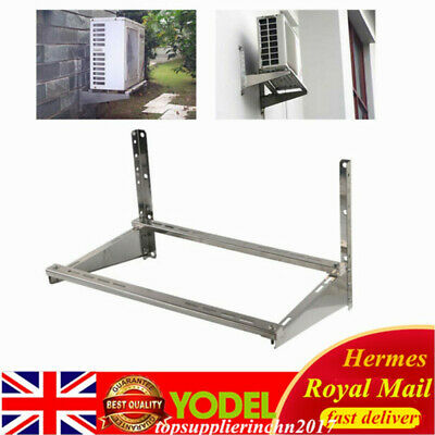 £42.01 • Buy Universal Air Conditioner Support Bracket Wall Mount Rack 201 Stainless Steel