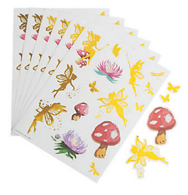£4.80 • Buy Pack Of 12 - Fairy Sticker Sheets - Tinkerbell Party Bag Fillers