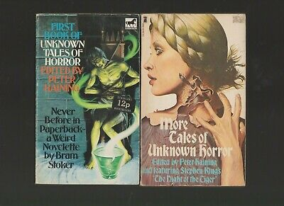 Unknown Tales Of Horror By Peter Haining Books 1 And 2 • 3.79£