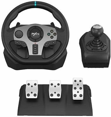 £233.99 • Buy PXN V9 Racing Steering Wheel Pedals Set Car Driving Simulator For Xbox One PC UK