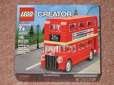 $ CDN29.99 • Buy  LEGO Creator 40220 Mini Double Decker London Bus Brand New Factory Sealed