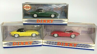Matchbox 'Dinky Collection' E Type Jaguar Mk 1½ Die Cast Models X 3 41024 • 8.50£