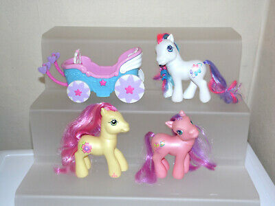 My Little Pony G3 Bundle Bowtie  / Royal Bouquet / Skywishes + Carriage • 15£