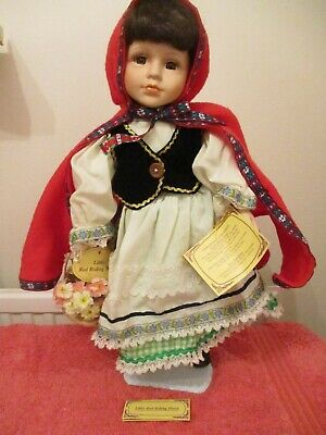 Regency Special Collectors Edition Porcelain Doll Little Red Riding Hood • 11.95£