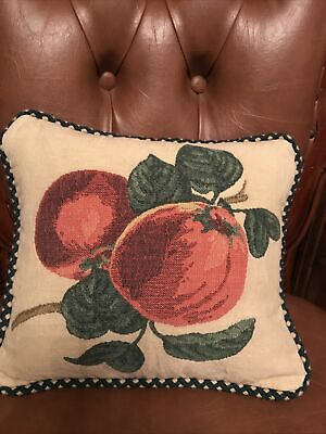 """Marks & Spencer's Orchard Fruit Small Cushion 11""""x10"""" • 4.40£"""
