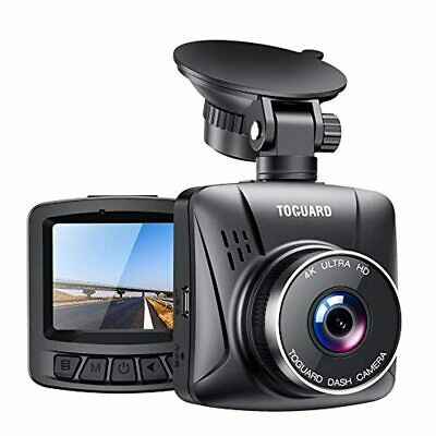 AU172.20 • Buy TOGUARD 4K Dash Cam For Cars With GPS, 2  LCD UHD 2160P Car Camera Vehicle Drivi