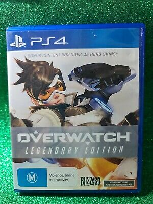 AU34.90 • Buy Overwatch Legendary Edition🕹️ PS4 - BRAND NEW (not Sealed)🕹️ FREE POST