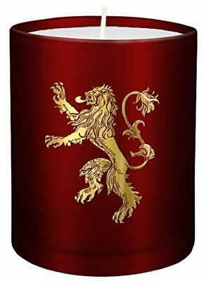 Game Of Thrones: House Lannister Large Glass Candle New Loose Leaf Book • 10.51£